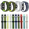 42mm 38mm S L size cheap rubber Silicone Colorful wrist band for Apple Watch 44mm 40mm Strap Sports Bracelet for apple iwatch Series 4 2&1
