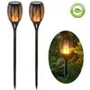 Solar Torch Light Outdoor Lighting Waterproof Landsacpe Decoration Solar LED Torches Garden Lights with Flame Effect