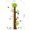 Cd003 new owl monkey tree children room bedroom background kindergarten height stickers