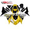 Full Motorcycle Yellow White Black New Fairings For Yamaha YZF1000 R1 02 03 2002 2003 Injection ABS Fairings Motorcycle Bodywork Cowlings