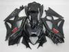 Three free beautiful gift and new high quality ABS fairing plates for SUZUKI GSXR1000-K7 2007-2008 Very gentleman black