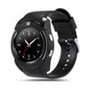Smart Watch V8 Round Dial Bluetooth Smartwatch Phones Supports SIM with Camera Sports Wrist Watches for Android iOS Wearable Wristwatch