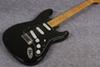 Hot sale factory store black maple fingerboard David Gilmour Electric Guitar ,Stratocaster black guitar,free shipping