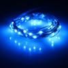 Wholesale-Free Shipping 10led 1meter Copper Wire String Lights Button Cell Fairy Lights Steady on Wedding Decoration light party