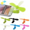 Mini Cool Micro USB Fan Mobile Phone USB Fan Cell phone For type-c micro USB iPhone x