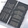 Brand 1Set(40PCs+) Stainless Steel Sewing Needles Sewing Pins Set Home DIY Crafts Household Sewing Accessories