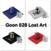 Goon 528 Lost ART RDA 24mm Diameter Goon 528 RDA Atomizers With Metal Wide Bore Drip Tip Fit 18650 Battery Mods