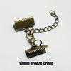 10mm Crimp-Bronze