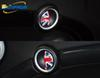 Newest Design Interior Door Handle Decoration Car Styling Car Stickers For BMW MINI COOPER S R55  R56  R57 Cartoon National Flag