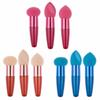 9Pcs set Makeup Foundation Sponge Cosmetic Puff Blending Makeup Sponge Powder Puff Flawless Makeup with Handle