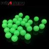 100Pcs lot 5mm Round Luminous Glow Rig Beads Sea Fishing Lure Floating Float Tackles WD-057