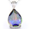 Blue colourful crystal