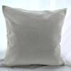 16x16 inches natural poly linen pillow case blanks for DIY sublimation plain burlap cushion cover embroidery blanks directly from factory