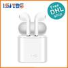 Bluetooth Headphones I7 I7S TWS Twins Earbuds Mini Wireless Earphones Headset with Mic Stereo V4.2 for phone Android with retail Package