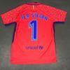 Goalkeeper Jerseys Camiseta Ter Stegen 2017 2018 Club home away red soccer  shirts Goalie GK Door man Short Sleeve uniforms football kits 5893786c8