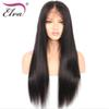 "Elva Hair 180% Density 360 Lace Frontal Wigs Pre Plucked With Baby Hair 10""-22"" Natural Color Brazilian Remy Straight Wigs"