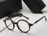 Black Silver ELSTER Round Eyeglasses Glasses Optical Frame men luxury designer eye glasses Eyewear unisex New with boxE
