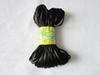 DIY Necklace's Cord and Clasp Black Satin String for Silicone Teething Necklace Jewels Safe Plastic Breakaway Clasps