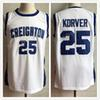 25 Kyle Korver Creighton Bluejays College Retro Classic Basketball Jersey  Mens Embroidery Stitched Custom any Number and name Jerseys d2743d6aa