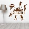 4 Color Fortnite Wall Stickers Plane Cartoon Window Glass Stickers fortnite dance paster party Home Decor AF2593 B