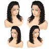 Cheap 8A Deep Wave Lace Front Human Hair Wigs Brazilian Virgin Hair Wigs Unprocessed Lace Front Wig Remy Hair Vendors Wholesale