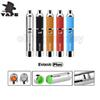 Authentic Yocan Evolve Plus Kit 1100mAh Battery Wax Vaporizer Whit Quartz Dual Coil Stealth Dab Vape Pen starter kits 100% Original