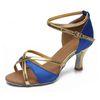 Blau 7cm Heel