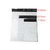 100pcs Lot White Self-seal Adhesive Courier bags Plastic Poly Envelope Mailer Postal Shipping Mailing Bags 4.7 Mil