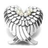Noosa Chunks Crystal Angel Wings Snap Button Jewelry Rhinestone Snap Button Fit 18mm Snap Buttons Bracelet Necklace