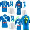 Adult 18 19 napoli soccer jersey home 2018 2019 Naples ZIELINSKI HAMSIK INSIGNE MERTENS CALLEJON PLAYER ROG football shirts