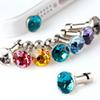 Crystal Anti-Dust Plug 3.5 mm Jack Earphone Plugs Cap Rhinestone Anti Dust Plug for Universal Phone iPhone Samsung Gadget Accessories
