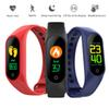 Sports Smart Band Heart Rate Fitness Bracelet Tracker Blood Pressure Monitor Color LCD Screen M3 Smart Wristband For iOS 8.0 Android Phone