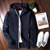 azul marino chaqueta