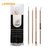 LANBENA Acne Blackhead Removal Needles Stainless Pimple Spot Comedone Extractor Beauty Face Clean Care Tools Facial Pore Cleanser 4pcs