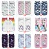 Women Hosiery 3D Printing Socks Aqua Unicorn Meias Causal Low Cut Ankle Sock Calcetines Christmas Gift Socks