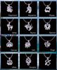 Mix 12 Constellation Gift 18kgp Pearl cage locket cages Pendants, DIY Wish Love Pearl Necklace charm pendants mountings