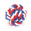 Pet Products Cotton Chew Knot Rope Pet Dog Toys Interactive Durable Ball Shaped Pet Dog Cotton Braided Toy 40pcs