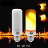 2018 Small Sizes 5W E27 B22 E14 LED Flame Light Bulb Flicker Fire Corn Bulb Anti-Crack Decoration Lamp