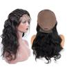 Brazilian Human Hair 130% Density Lace Front Wigs With Baby Hair Non-remy Body Wave Natural Black Color