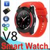 V8 Smart Watch Wristband Watch Band With 0.3M Camera SIM IPS HD Full Circle Display Smart Watch For Android System With Box EV8 50 Packs