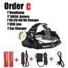 Order C
