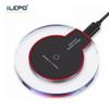 QI Wireless Pad Charger Tablet Wireless Fast Charging Portable For Phone Samsung Galaxy S6 S8 Plus Edge Note 8 i Phone 8 X With Retail Box
