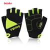 bcea2ed7d4 Boodun New Style Bicycle Gloves Half Finger Breathable Summer Cycling  Gloves Lycra Anti-Skid Riding