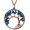 Blue Crystal chain