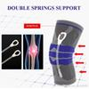 Elastic Knee Support Brace Kneepad Adjustable Patella Volleyball Knee Pads Basketball Safety Guard Strap Protector