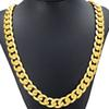 Cuban Real Gold Chain For Men Heavy Charming Fine Jewelry Wholesale Choker Hiphop Rope Necklace 18K Copper Hot Sale Limited Free Shipping