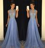 Lavender Chiffon Long Bridesmaid Dresses For Wedding Prom Party Wear 2019 Beads Applique Lace Chiffon Long Gowns Vestido