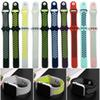 Sport Silicone More Hole Loops Straps Bands Watchband For Apple Watch Series 5 4 3 2 1 40mm 44mm Strap Band Wrist Bracelet VS Fitbit Strap