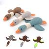 Pet Dog Goose Sounding Toys Dogs Teeth Cleansing Sound Bird Molar Toy Solid Playable Funny Puppy Plush Toy