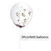 3 # konfeti balonları